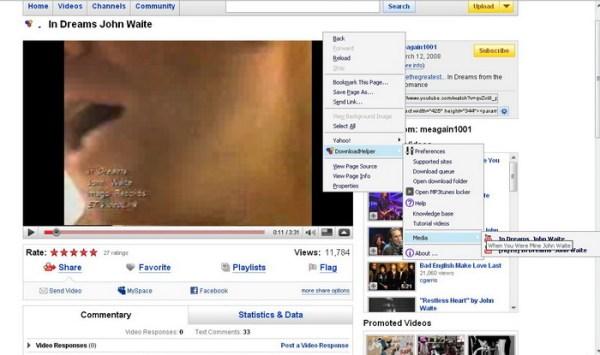 download dari youtube