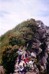 cereme peak....BLCK team hiking...
