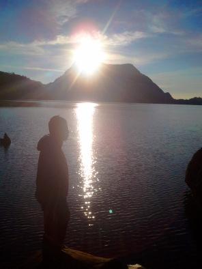 sunrise & me
