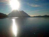 sunrise di gunung tujuh