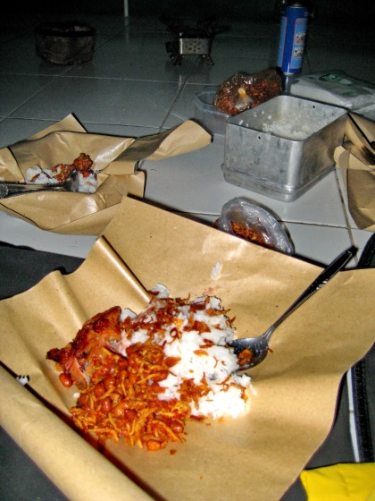 menu makan di camp david