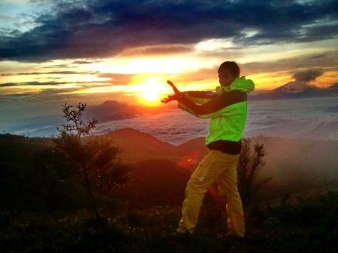 sunrise in my hand