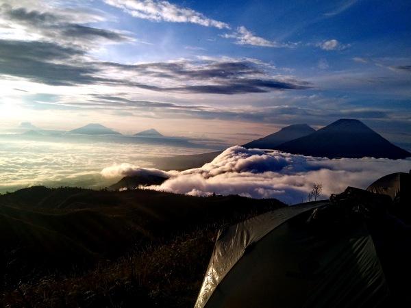 tenda di puncak prau