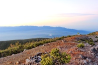 pemandangan top marapi dempo