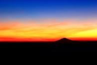 sunrise di balik cikuray