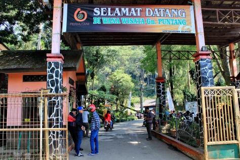 pos wisata gunung puntang