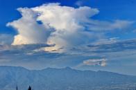 gunung sawal & awan tebal