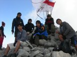 blck hiking team di puncak welirang